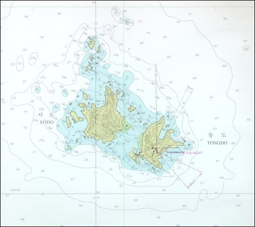 Nautical Map.